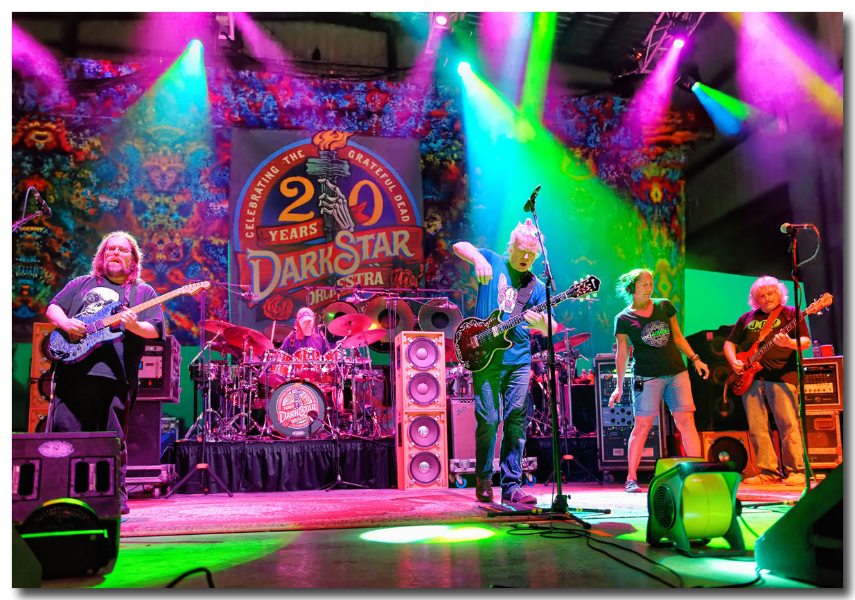 JEFF MATTSON, DINO ENGLISH, ROB EATON, LISA MACKEY & SKIP VANGELAS, DARK STAR ORCHESTRA